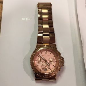 Michael Kors Chrono Watch - 100% Authentic